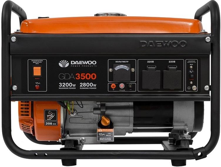 Бензиновый генератор дэу 3500 отзывы генератор