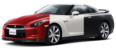 Автомобили меняющегося цвета - Технологии: Техника -